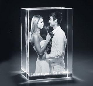gravírozott-uvegtomb valentinnapra- évfordulóra