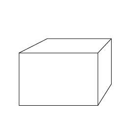Üvegtömb 6x4x4 cm